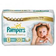 Pampers Premium Care 0 (1-2,5 кг) 30 шт