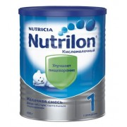 Nutrilon Нутрилон Кисломолочный 1 с рождения 400г