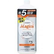 LION средство для мытья посуды MAGICA с ароматом апельсина (наполнитель) 1000 мл