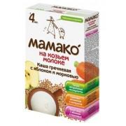 МАМАКО Каша Гречневая с яблоком и морковью на козьем молоке с 4 мес 200 г