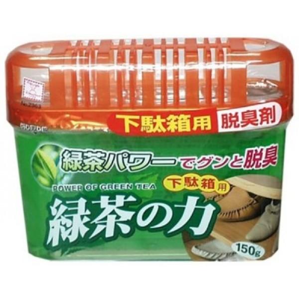 KOKUBO Дезодоронт - поглотитель неприятных запахов для обувных шкафов с экстрактом зеленого чая